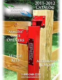 Turnstyle Armless Gate Openers Catalog